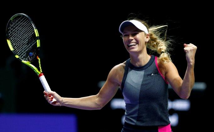 2017 WTA Finalleri'nde Wozniacki'den ilk şampiyonluk