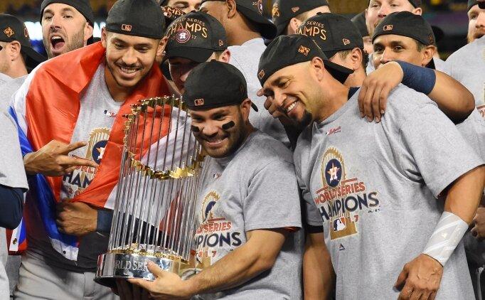 MLB'de Houston Astros ilk kez şampiyon
