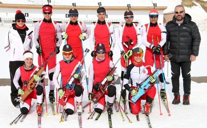 Biatlon Milli Takımları'nda hazırlıklar sürüyor