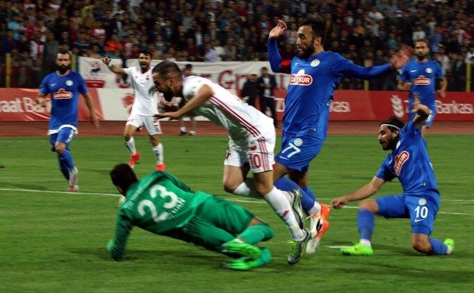 Türkiye Kupası'nda Çaykur Rizespor'a büyük şok!
