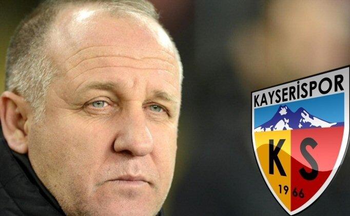 Mesut Bakkal, Kayserispor'un teknik direktörü oldu