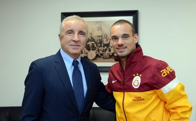 Ünal Aysal'dan yönetime Sneijder tepkisi!