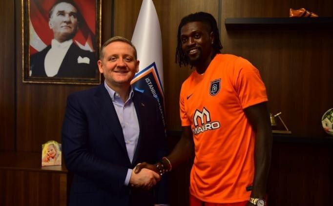 Adebayor, Başakşehir'e transfer oldu
