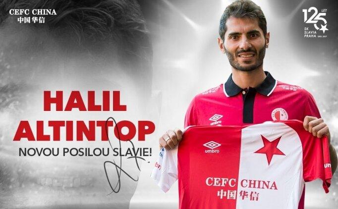 Halil Altıntop Slavia Prag'a transfer oldu