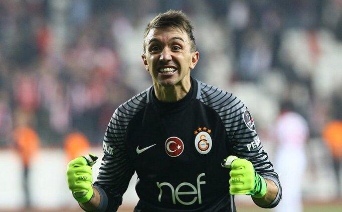 Galatasaray'da Fernando Muslera yine çıldırttı!