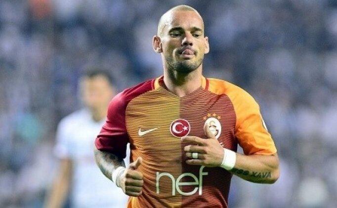 Sneijder için şaşırtan iddia! ''Başka takım için...''