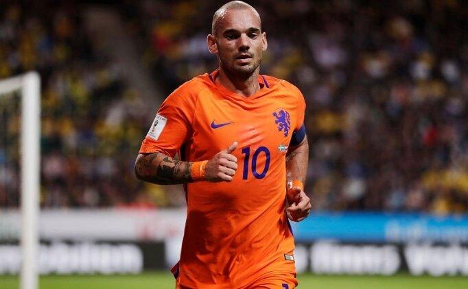 Galatasaray'da Sneijder vedaya yaklaşıyor