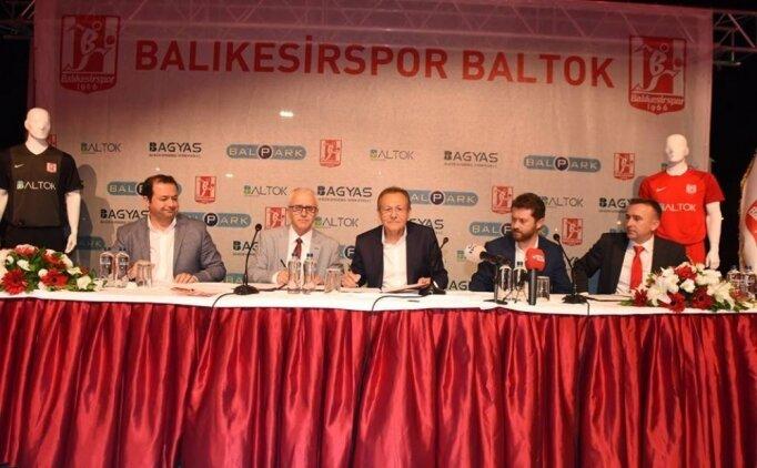 Balıkesirspor'un adı Balıkesirspor Baltok oldu
