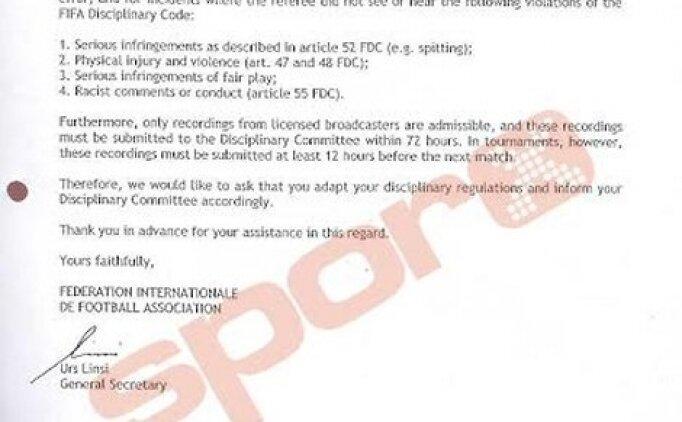 İşte FIFA'nın 'GÖRÜNTÜ' kriteri!