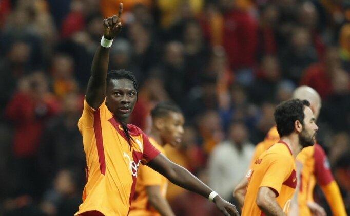 Bafetimbi Gomis'ten Galatasaray'a rest!