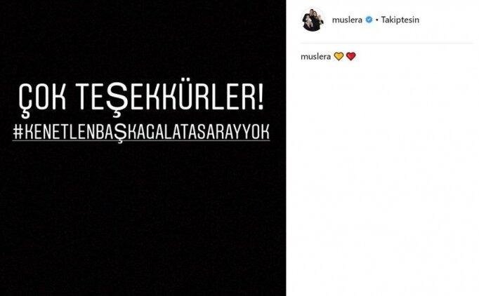 Galatasaray'da tüm futbolculardan aynı paylaşım!