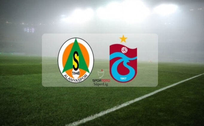 Alanyaspor Trabzonspor maçı hangi gün, saat kaçta, hangi kanalda?