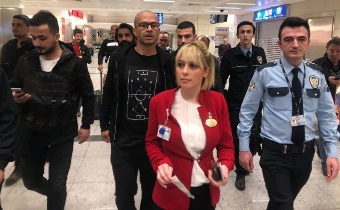 Alex de Souza, İstanbul'a geldi!