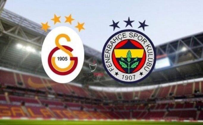 Fenerbahçe Galatasaray maç kadroları, FB GS derbi maçı 11'leri