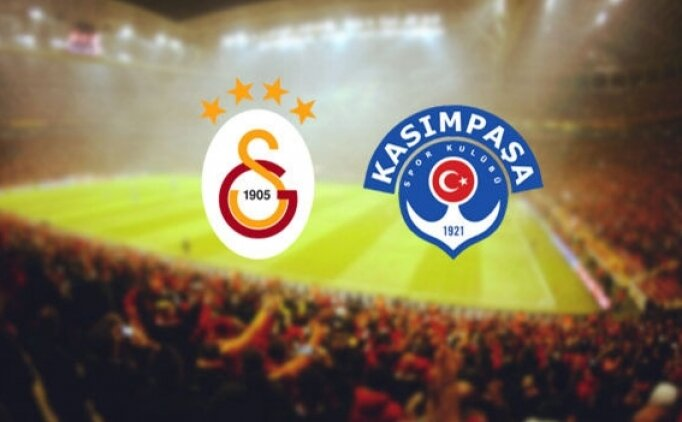 Galatasaray Kasımpaşa maçı hangi gün, saat kaçta, hangi kanalda?