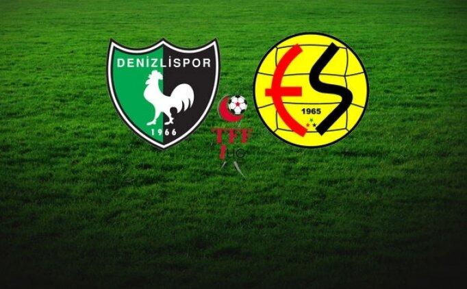Denizlispor Eskişehirspor maçı canlı hangi kanalda saat kaçta?