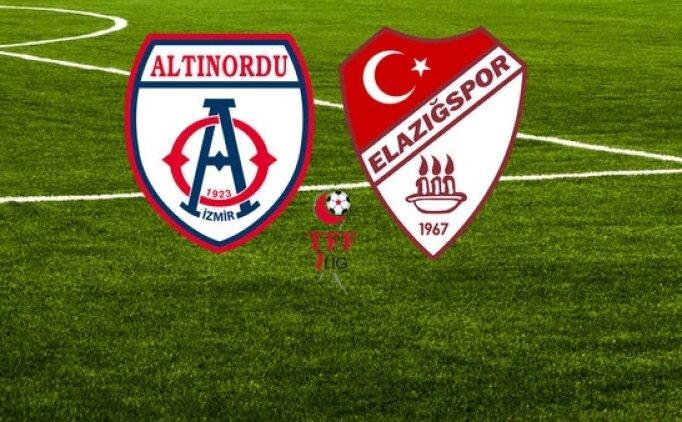 Altınordu Elazığspor maçı canlı hangi kanalda saat kaçta?