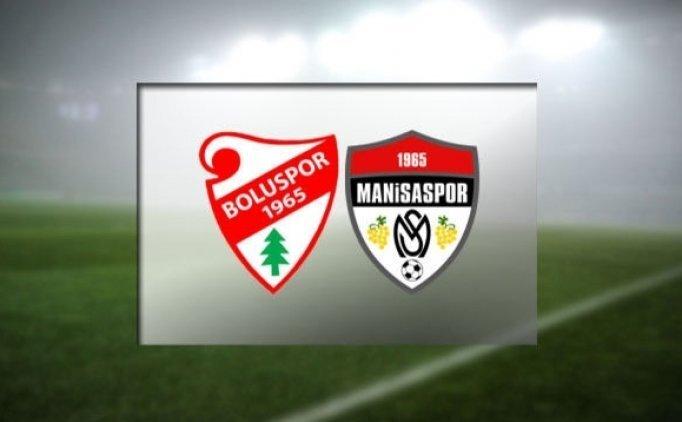 Boluspor Manisaspor maçı CANLI hangi kanalda saat kaçta?