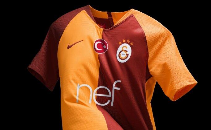Galatasaray'ın 2018-2019 iç saha forması belli oldu