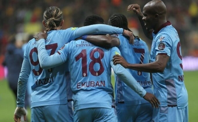 Trabzonspor'un Sivas Bld karşısındaki 11'i