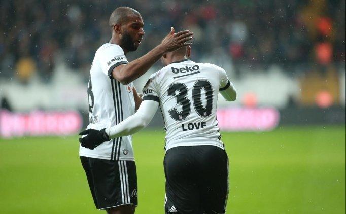 Vagner Love, Beşiktaş'ta seriyi sürdürme peşinde