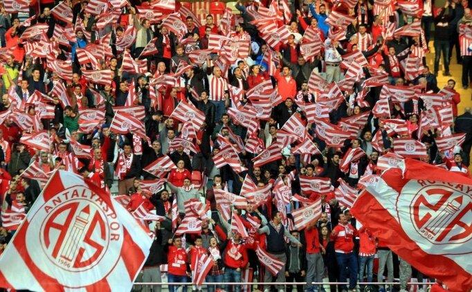 Antalyaspor taraftarına deplasman yasağı