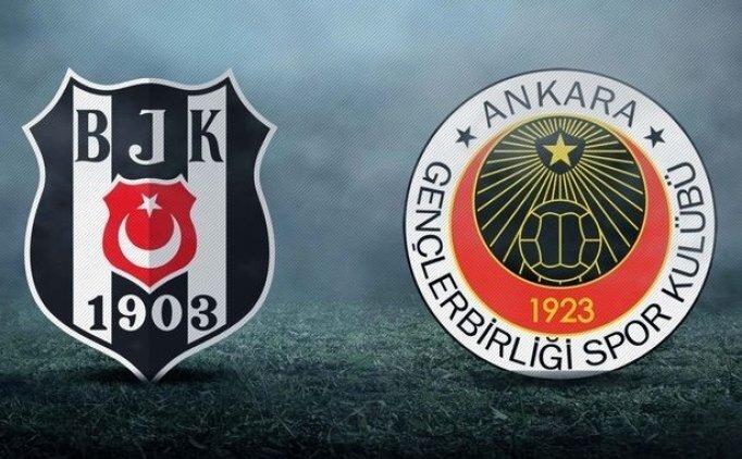 Beşiktaş'ın muhtemel 11'i Beşiktaş Gençlerbirliği maçı hangi kanalda saat kaçta?