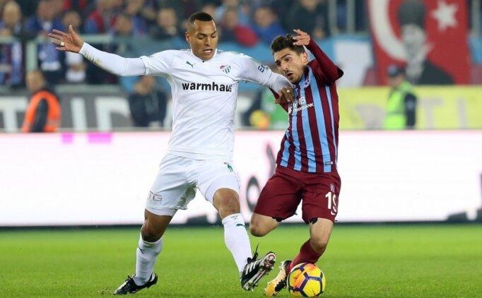 Bursaspor-Trabzonspor: İlk 11'ler