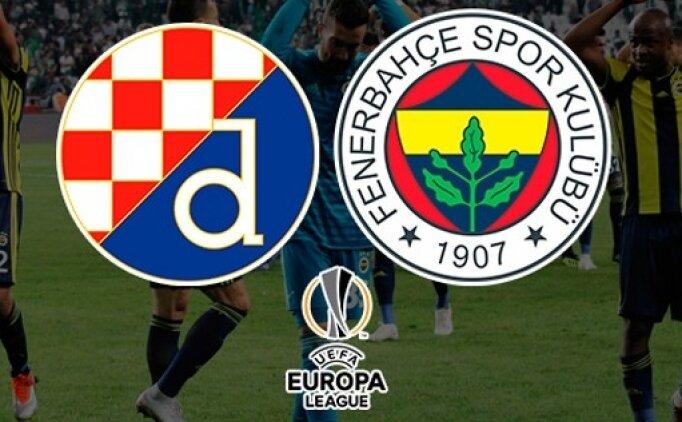 Dinamo Zagreb Fenerbahçe maçı hangi kanalda canlı yayınlanacak?