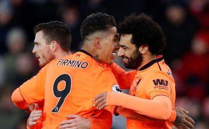 Salah ve Firmino Liverpool'u taşıdı