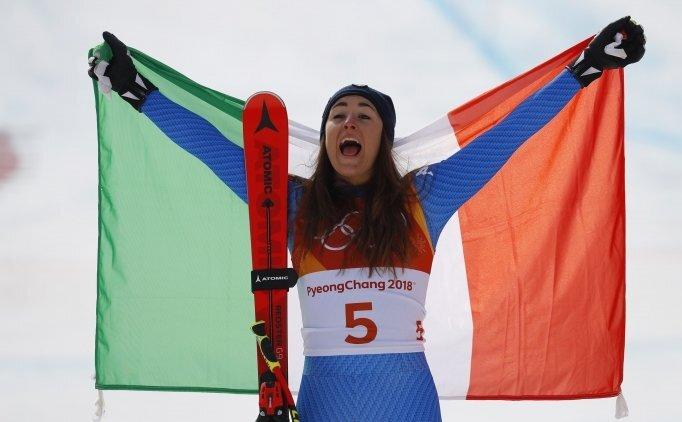 Sofia Goggia'dan ilk olimpiyat şampiyonluğu