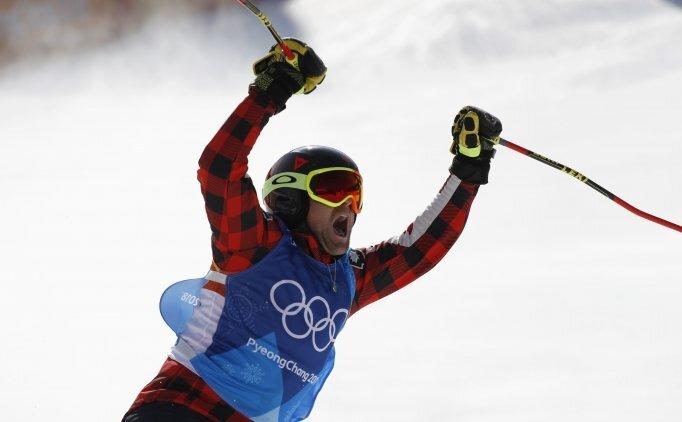 Altın madalya Kanadalı Brady Leman'ın