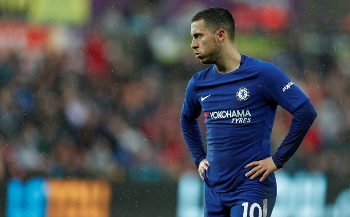 Eden Hazard'dan yönetime 'transfer' çağrısı