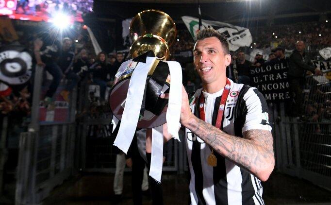 Juventus'ta Beşiktaş ve Galatasaray'ın istediği Mandzukic için ayrılık sözleri