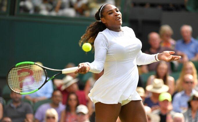 Serena Williams zorlanmadan çeyrek finalde