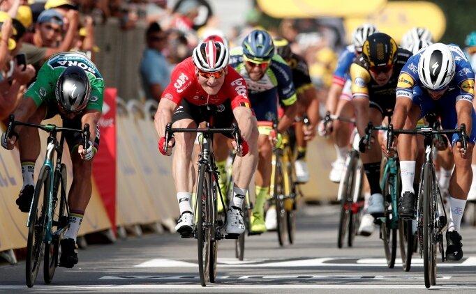 Fransa Bisiklet Turu'nda 4. etap Rendon'un!