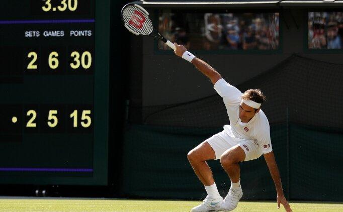 Roger Federer, 4 saatlik savaştan çıkamadı!