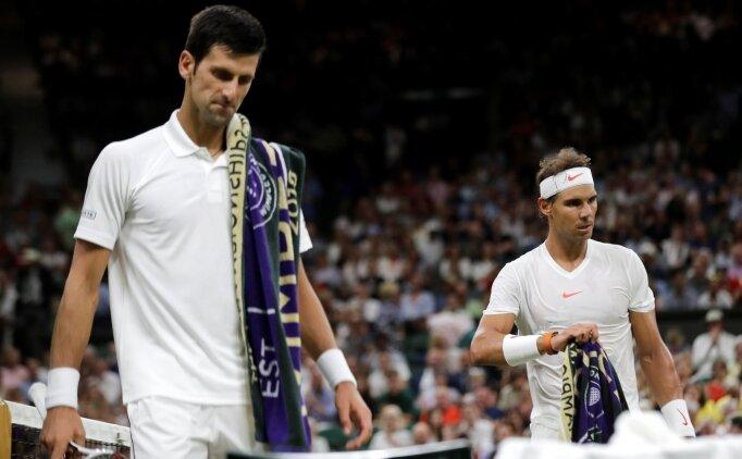 Nadal - Djokovic maçı uzadı, kriz çıktı!