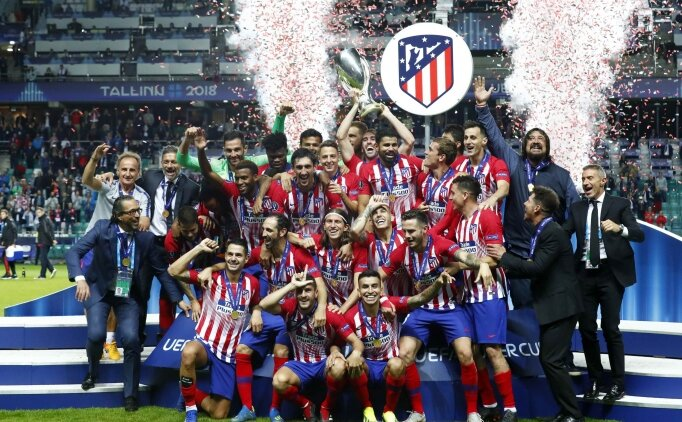 2018 UEFA Süper Kupa Atletico Madrid'in