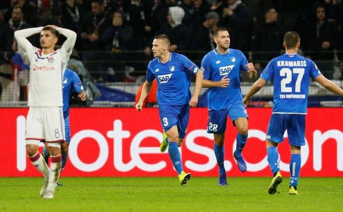 Hoffenheim mucizeyi gerçekleştirdi, Lyon şokta