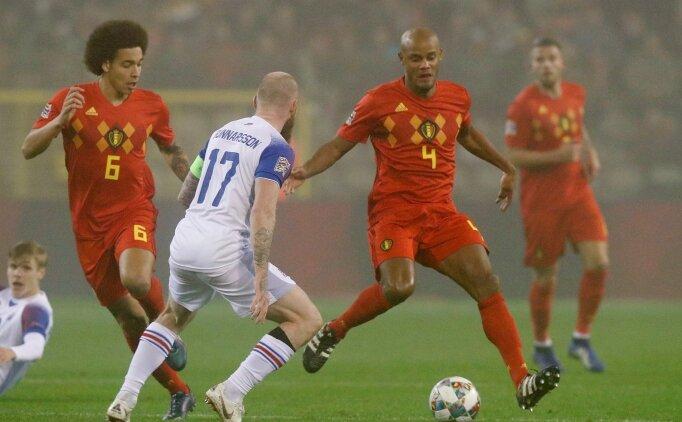 Belçika İzlanda'yı ikinci yarıda devirdi