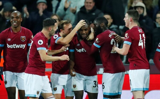 West Ham'da bu sezon bir ilk!