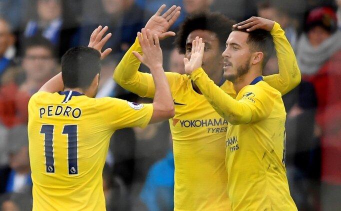 Chelsea gaza bastı: Deplasmanda 3 puan