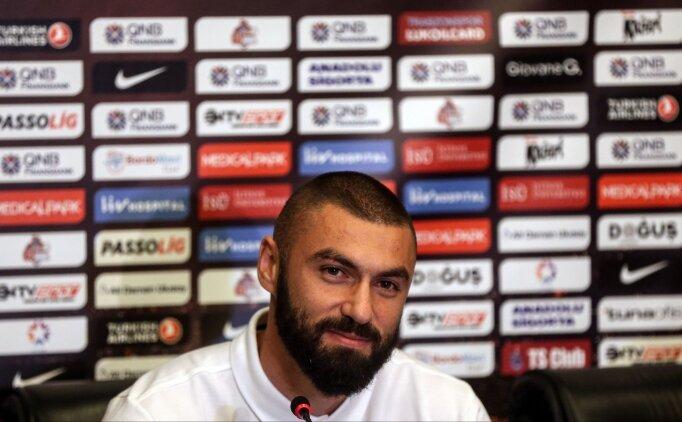 Burak Yılmaz: 'Evet, Trabzonspor'dan ayrılabilirim'