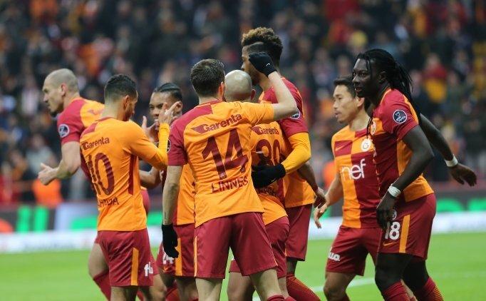Galatasaray, zirveyi farkla aldı!