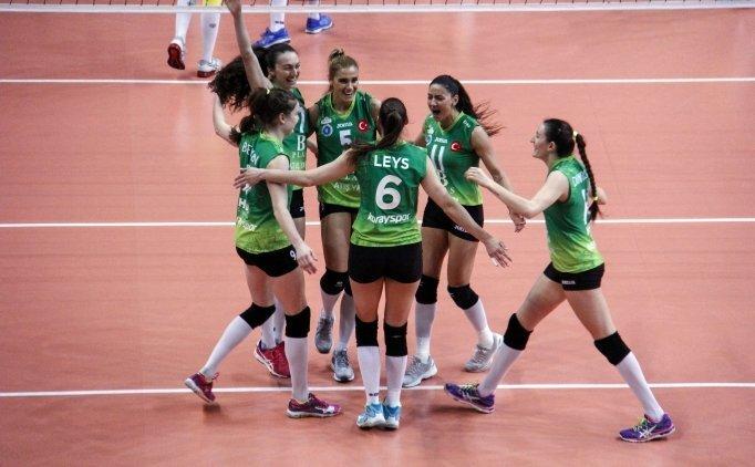 Bursa Büyükşehir Belediyespor, finale göz kırptı!