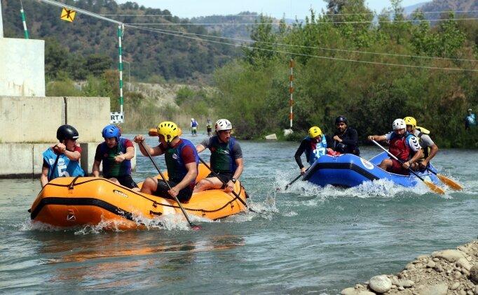 'Rafting iki ay sonra olimpik spor oluyor'
