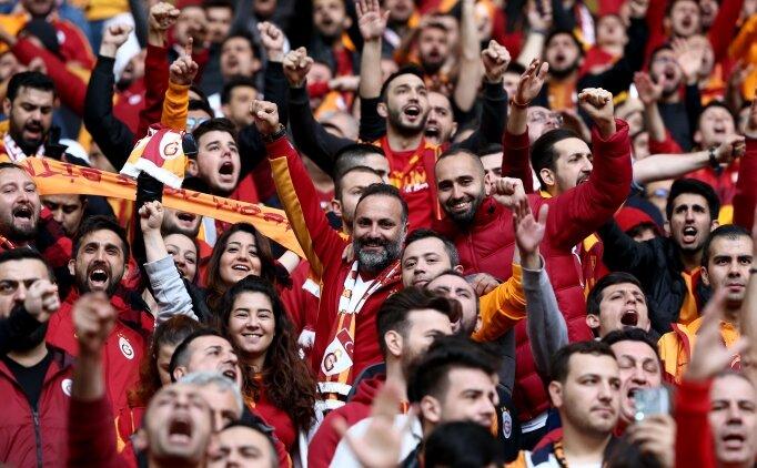 Şampiyonluk maçına 284 Galatasaraylı!