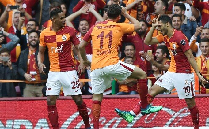 Galatasaray 12 dakikada iki rekor birden kırdı