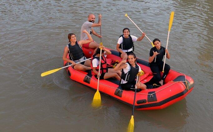Tuncelili raftingci kızlar, Dünya Şampiyonası'na hazırlanıyor